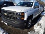 2014 Summit White Chevrolet Silverado 1500 WT Double Cab #90185294