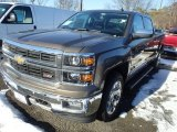 2014 Brownstone Metallic Chevrolet Silverado 1500 LTZ Z71 Crew Cab 4x4 #90185292