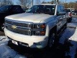 2014 White Diamond Tricoat Chevrolet Silverado 1500 High Country Crew Cab 4x4 #90185291