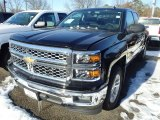 2014 Black Chevrolet Silverado 1500 LT Double Cab #90185286