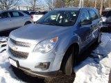 2014 Silver Topaz Metallic Chevrolet Equinox LS AWD #90185280