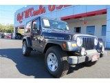 2006 Midnight Blue Pearl Jeep Wrangler Rubicon 4x4 #90185516