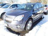 2014 Atlantis Blue Metallic Chevrolet Equinox LT #90185277