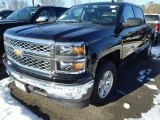 2014 Black Chevrolet Silverado 1500 LT Crew Cab 4x4 #90185267