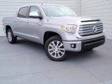 2014 Silver Sky Metallic Toyota Tundra Limited Crewmax 4x4 #90185746