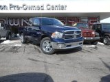 2014 True Blue Pearl Coat Ram 1500 Big Horn Quad Cab 4x4 #90186084