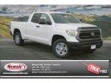 2014 Super White Toyota Tundra SR5 Double Cab 4x4 #90185261