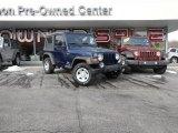 2006 Midnight Blue Pearl Jeep Wrangler Sport 4x4 #90186080