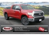 2014 Barcelona Red Metallic Toyota Tundra SR5 Double Cab 4x4 #90185257