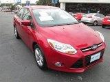 2012 Red Candy Metallic Ford Focus SE Sport Sedan #90185476