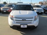 2014 White Platinum Ford Explorer Limited #90185458