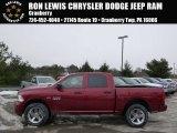 2014 Deep Cherry Red Crystal Pearl Ram 1500 Express Crew Cab 4x4 #90185560