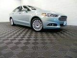 2013 Ice Storm Metallic Ford Fusion Hybrid SE #90185836