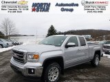 2014 Quicksilver Metallic GMC Sierra 1500 SLE Double Cab 4x4 #90185681