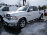 2012 Bright White Dodge Ram 1500 Laramie Crew Cab 4x4 #90185792