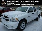 2014 Bright White Ram 1500 Express Crew Cab 4x4 #90239862