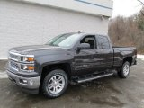 2014 Tungsten Metallic Chevrolet Silverado 1500 LT Double Cab 4x4 #90239793