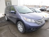 2012 Twilight Blue Metallic Honda CR-V EX 4WD #90269639