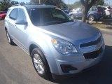 2014 Silver Topaz Metallic Chevrolet Equinox LT #90277315