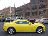 2014 Bright Yellow Chevrolet Camaro SS Coupe #90277066