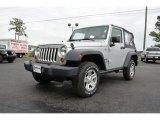 2012 Bright Silver Metallic Jeep Wrangler Sport 4x4 #90277210