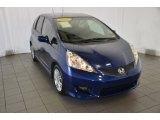 2011 Vortex Blue Pearl Honda Fit Sport #90297544
