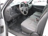 2004 Chevrolet Silverado 1500 Regular Cab Dark Charcoal Interior
