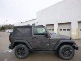 2014 Jeep Wrangler Granite Metallic