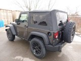 2014 Jeep Wrangler Granite Metallic