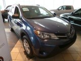 2013 Shoreline Blue Pearl Toyota RAV4 LE AWD #90298041