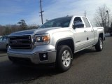 2014 Quicksilver Metallic GMC Sierra 1500 SLE Double Cab 4x4 #90297493