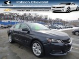 2014 Blue Ray Metallic Chevrolet Impala LS #90298023