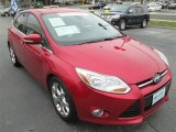 2012 Red Candy Metallic Ford Focus SEL 5-Door #90297626