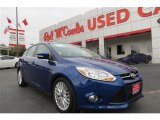 2012 Kona Blue Metallic Ford Focus SEL 5-Door #90297625