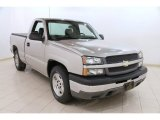 2005 Silver Birch Metallic Chevrolet Silverado 1500 Regular Cab #90297936