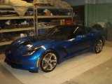 2014 Night Race Blue Metallic Chevrolet Corvette Stingray Coupe Z51 #90335488