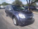 2014 Atlantis Blue Metallic Chevrolet Equinox LT #90335486
