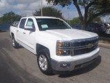 2014 Summit White Chevrolet Silverado 1500 LTZ Z71 Crew Cab 4x4 #90335485