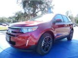 2014 Ruby Red Ford Edge SEL EcoBoost #90335083