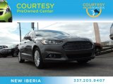 2013 Sterling Gray Metallic Ford Fusion Hybrid SE #90335409