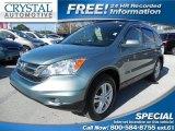 2011 Opal Sage Metallic Honda CR-V EX-L 4WD #90335339