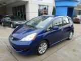 2011 Vortex Blue Pearl Honda Fit Sport #90335068