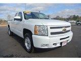 2011 Summit White Chevrolet Silverado 1500 LTZ Extended Cab 4x4 #90335308