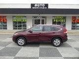 2014 Basque Red Pearl II Honda CR-V EX-L #90369736