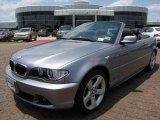 2006 Silver Grey Metallic BMW 3 Series 325i Convertible #9030037