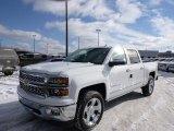 2014 Summit White Chevrolet Silverado 1500 LTZ Crew Cab 4x4 #90369584