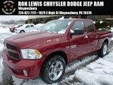 2014 Deep Cherry Red Crystal Pearl Ram 1500 Express Quad Cab 4x4 #90369656