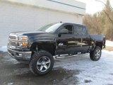 2014 Black Chevrolet Silverado 1500 LT Z71 Crew Cab 4x4 #90369511