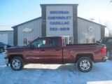 2014 Deep Ruby Metallic Chevrolet Silverado 1500 LT Double Cab 4x4 #90369932