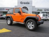 2012 Crush Orange Jeep Wrangler Sport S 4x4 #90369648